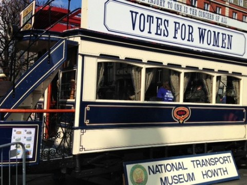 Votes for Women - the topic was 1900-s
