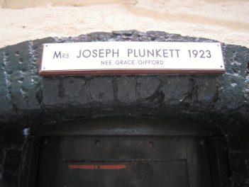 Grace Plunkett's cell