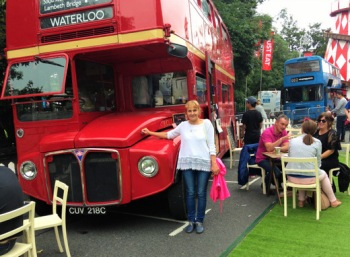 Streetfood from the red bus