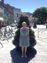 In front of the Cork Opera house