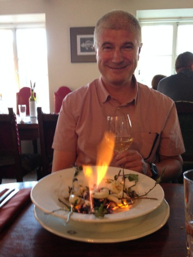 The food is on fire, at Rapid Rabbit