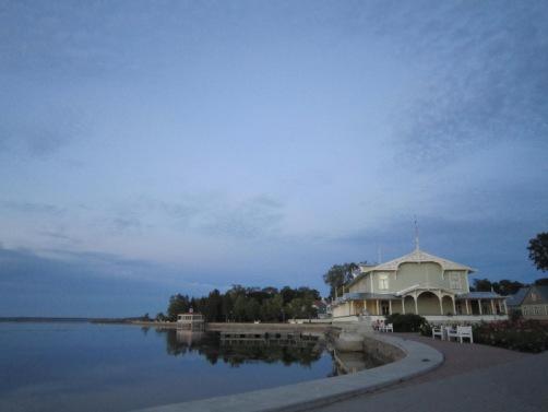 Haapsalu Promenade and summer restaurant Kurhouse