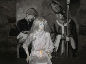 White Lady from the dungeon of the Castle museum