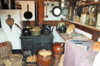 Ship kitchen